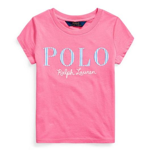 Polo Ralph Lauren Logo Cotton Jersey Tee 5-6.5Y