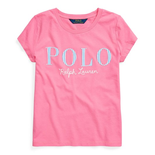 Polo Ralph Lauren Logo Cotton Jersey Tee 7-14Y
