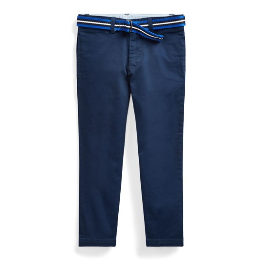 Polo Ralph Lauren Belted Stretch Skinny Chino 5-7Y