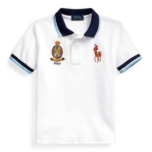 Polo Ralph Lauren Big Pony Crest Cotton Polo 5-7Y