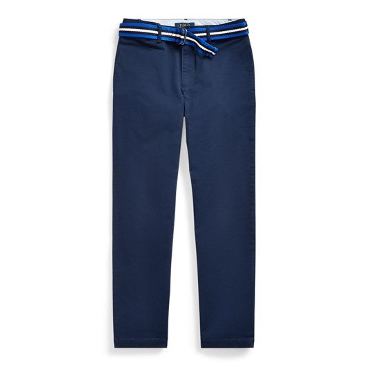 Polo Ralph Lauren Belted Stretch Skinny Chino 8-14Y