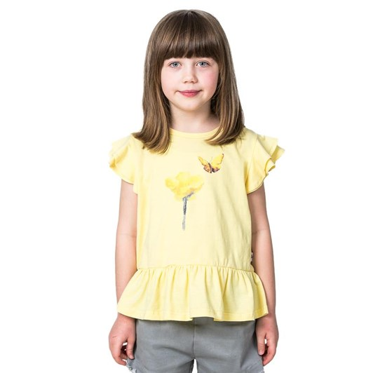 Kissed By Radicool Hey Buttercup Frill Tee
