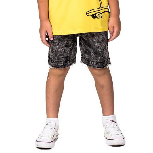 Radicool Dude Yellow Bolt Denim Short