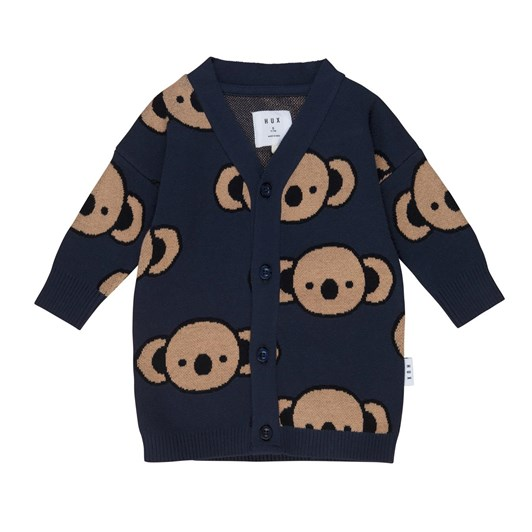 Huxbaby Koala Knit Cardi 3-5Y