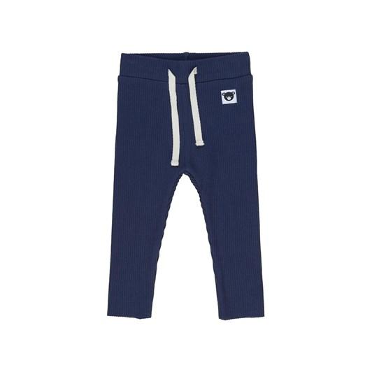 Huxbaby Dark Blue Rib Legging 3-5Y
