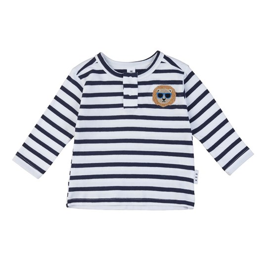 Huxbaby Cool Lion Henley 0M-2Y
