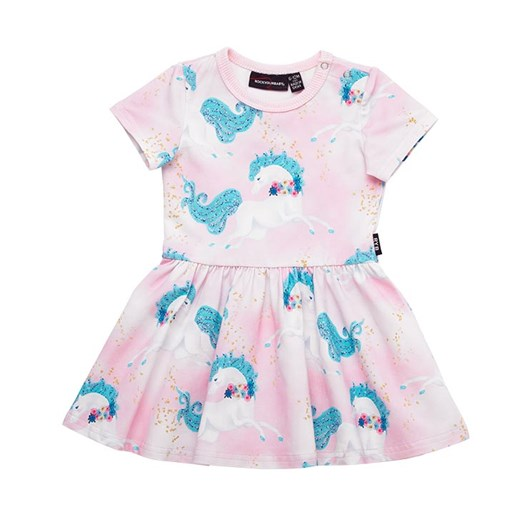 Rock Your Baby Sparkle SS Baby Dress