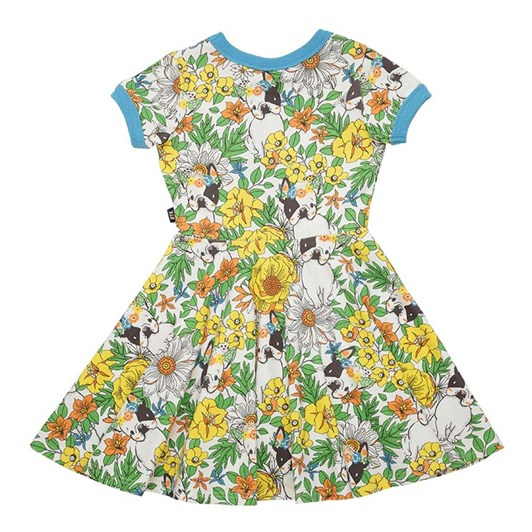 Rock Your Baby Frenchie Floral SS Waisted Dress