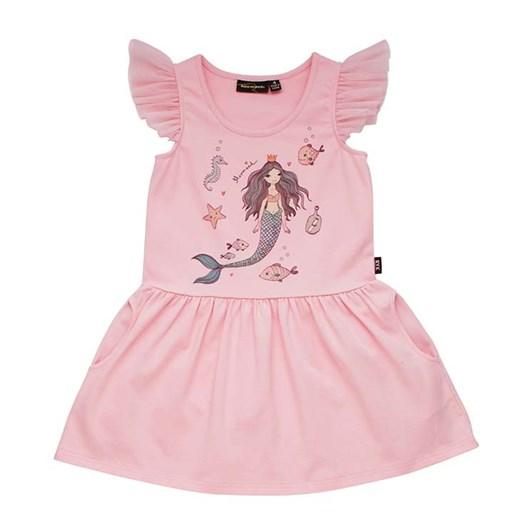 Rock Your Baby Mermaid Sleeveless Drop Waist Dress