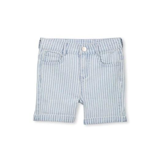 Milky Denim Stripe Short