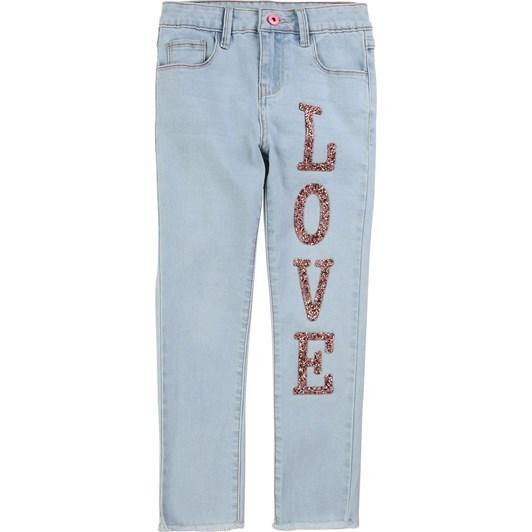 Billieblush Denim Trousers 3-6Y