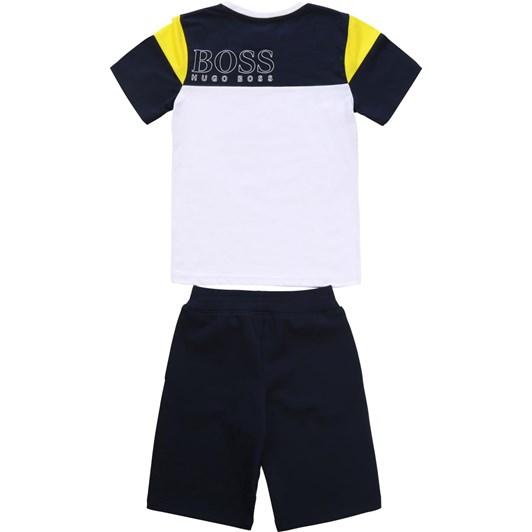 Hugo Boss T-Shirt And Bermuda Shorts 10-16Y