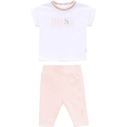 Hugo Boss T-Shirt And Leggings Set