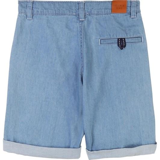 Carrement Beau Denim Bermuda Shorts 3-6Y
