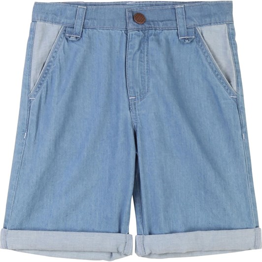 Carrement Beau Denim Bermuda Shorts 3-6Y