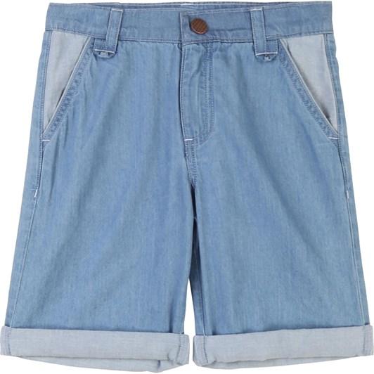 Carrement Beau Denim Bermuda Shorts 8-12Y