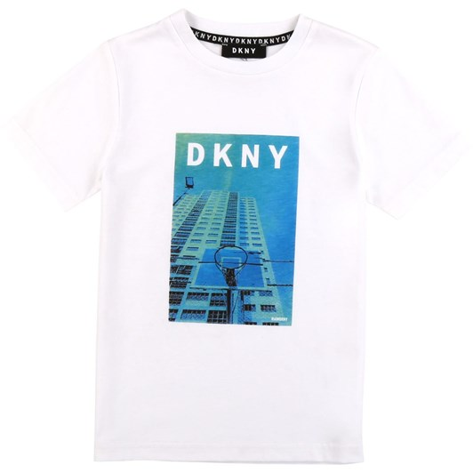 DKNY Short Sleeves Tee-Shirt 6-8Y