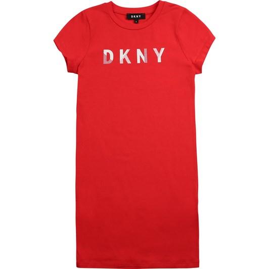 DKNY Sleeve Dress 6-8Y