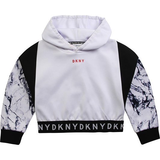 DKNY Hooded Sweatshirt 6-8Y