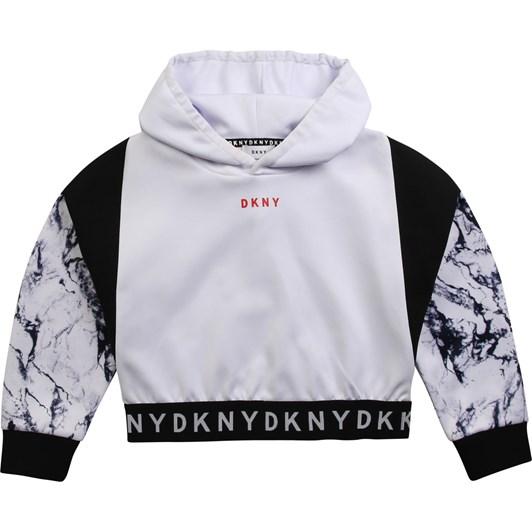 DKNY Hooded Sweatshirt 6-8Y