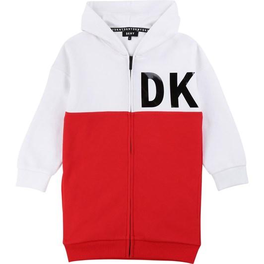 DKNY Hooded Cardigan 6-8Y