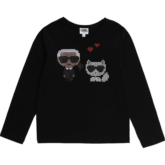 Karl Lagerfeld Long Sleeve T-Shirt 10-16Y