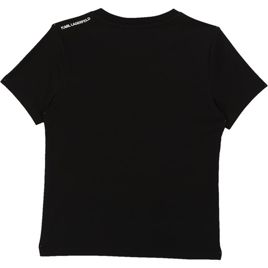 Karl Lagerfeld Short Sleeves Tee-Shirt 6-8Y