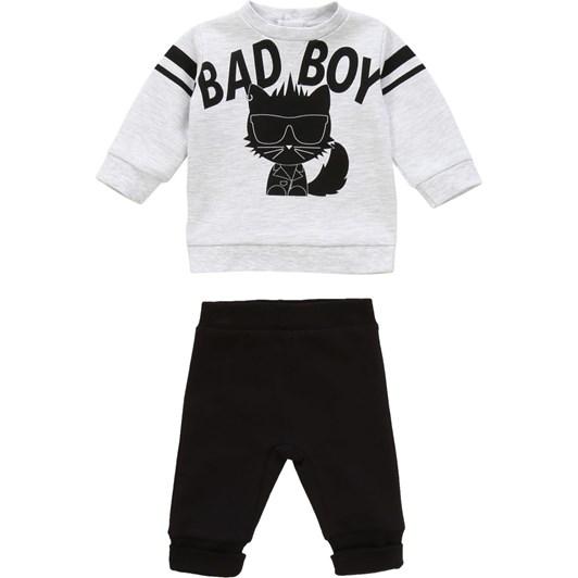 Karl Lagerfeld Sweater-Trousers Set