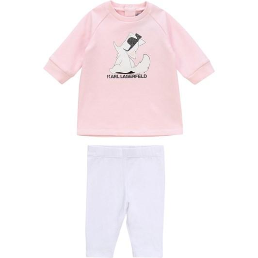 Karl Lagerfeld Set Dress-Leggings
