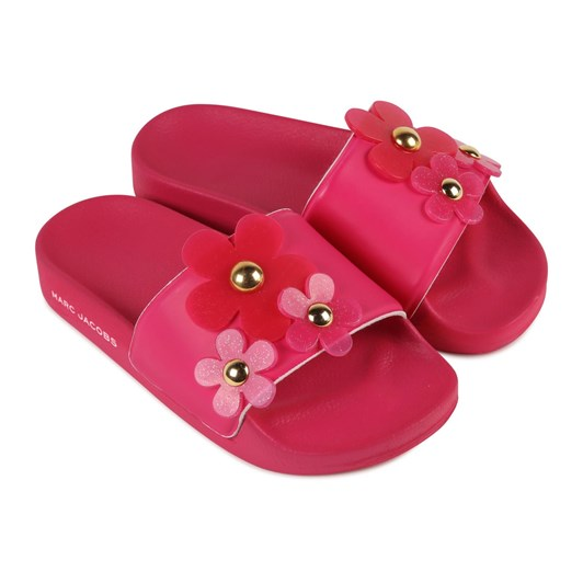 Little Marc Jacobs Aqua Slides Size 35-37