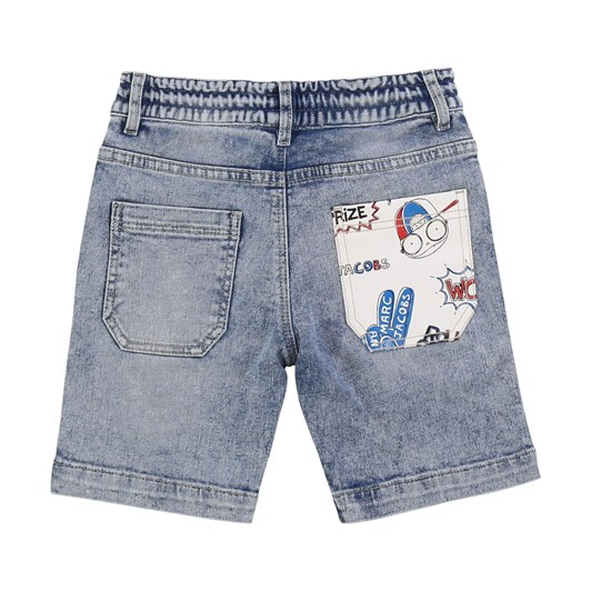 Little Marc Jacobs Denim Bermuda Shorts 8-12Y