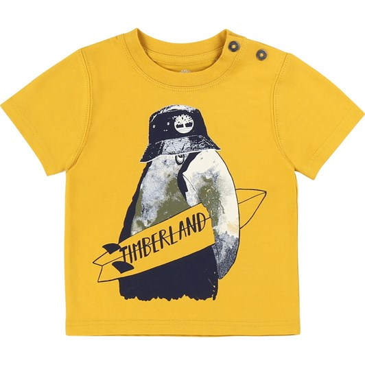 Timberland Short Sleeves Tee-Shirt 6-18M