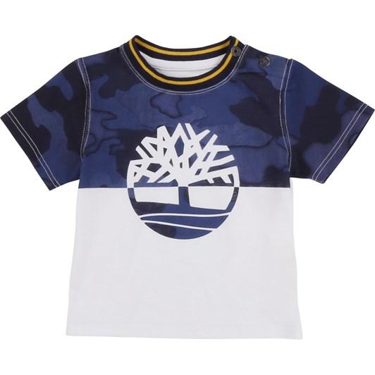 Timberland Short Sleeves Tee-Shirt 2-4Y