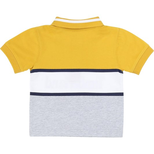 Timberland Short Sleeve Polo 2-4Y