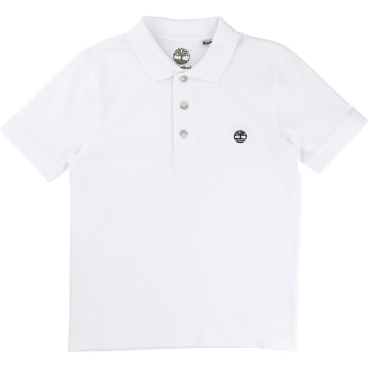 Timberland Short Sleeve Polo 6-8Y