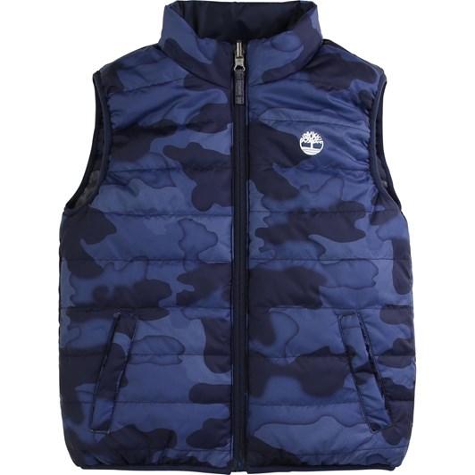 Timberland Puffer Jacket Sleeveless 6-8Y