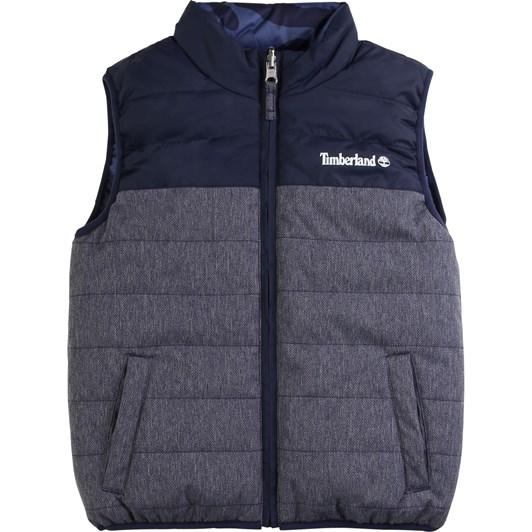 Timberland Puffer Jacket Sleeveless 10-16Y