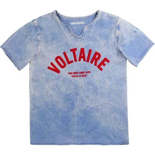 Zadig & Voltaire Short Sleeves Tee-Shirt 6-8Y