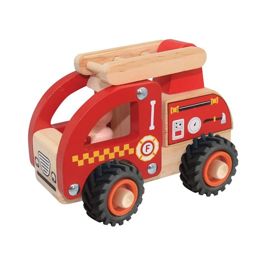 House Of Marbles Wooden Brrm Brrm Emergency Vehicles