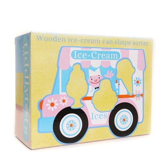 House Of Marbles Wooden Ice Cream Van Shape Sorter