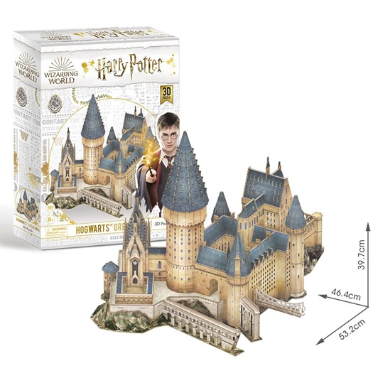 Wrebbit 3D Puzzles Harry Potter Hogwarts Great Hall