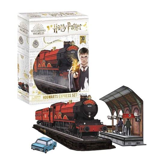 Wrebbit 3D Puzzles Harry Potter Hogwarts Express