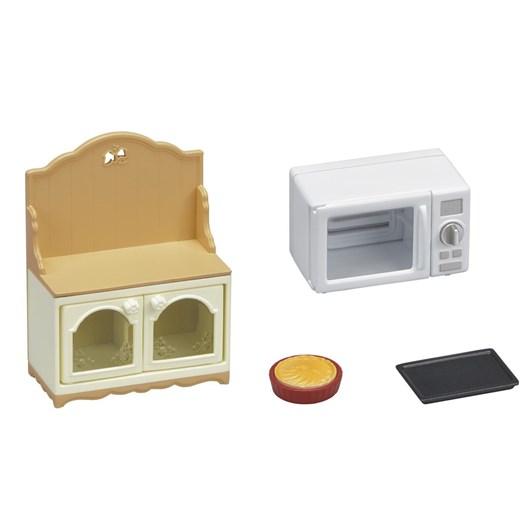 Sylvanian Families Microwave Cabinet