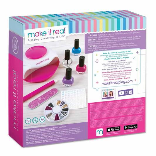 Make It Real Glitter Dream Nail Spa