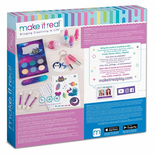 Make It Real Girl On The Go Cosmetic Set