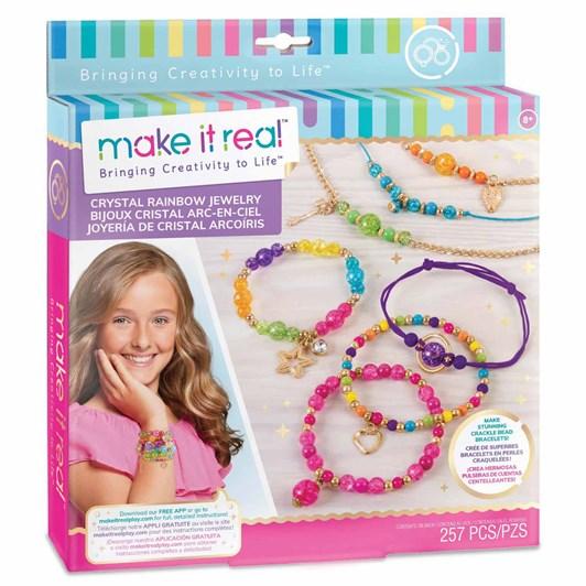 Make It Real Crystal Rainbow Jewellery