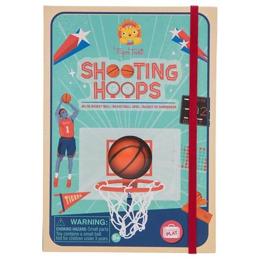 Tiger Tribe Shooting Hoops Basketball Game