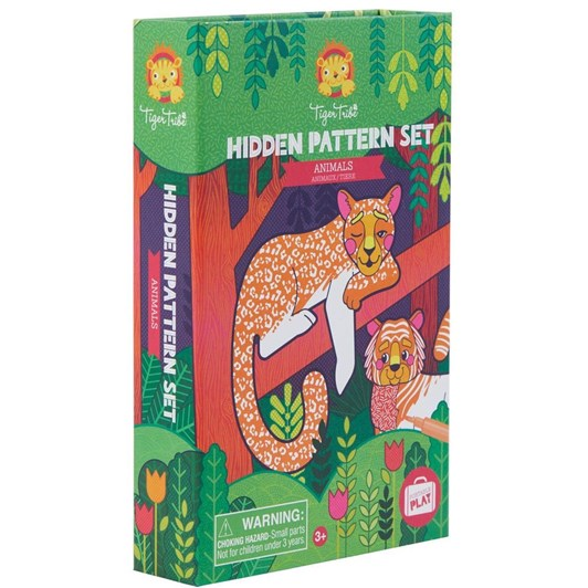 Tiger Tribe Hidden Pattern - Animals