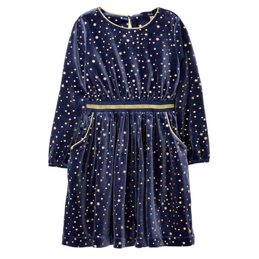 Joules Twirl Velvet Party Dress