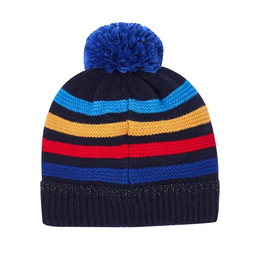 Joules Windaway Textured Stripe Hat